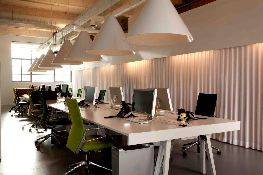 Topfloor - Interieur kantoorruimte
